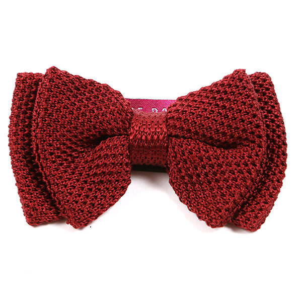Red Butterfly Silk Bow Tie | One of One