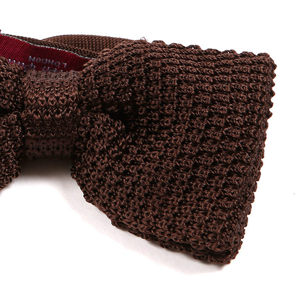 Brown Silk Bow Tie | One of One