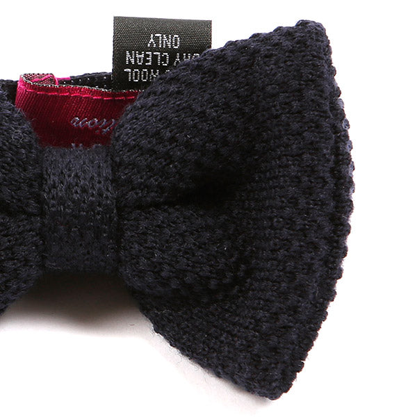 Deta Blue Wool Bow Tie | One of One