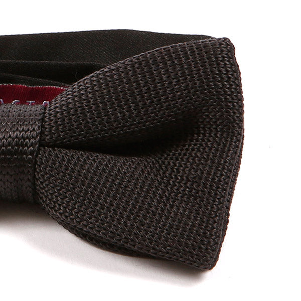 Zeva Black Silk Bow Tie
