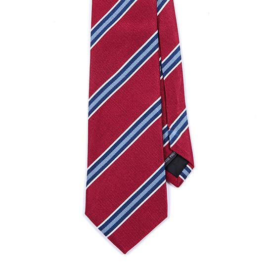 RED PATTERNED SILK TIE - TIE DOCTOR online