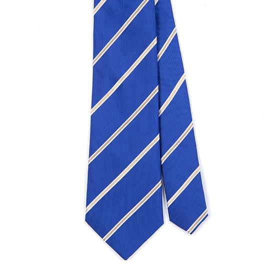 BLUE NEW AGE SILK TIE - Handmade Limited Edition Ties by Tie Doctor
