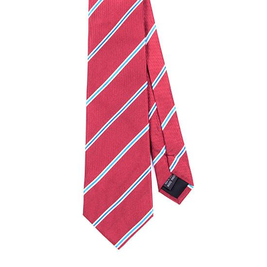 RED NEW AGE SILK TIE