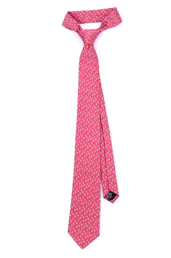 PINK SILK TIE - Handmade Limited Edition Ties by Tie Doctor