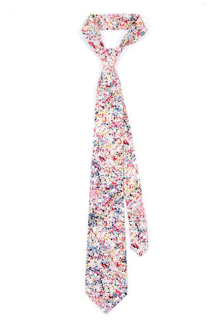 Paint Spill Cotton Tie - TIE DOCTOR online