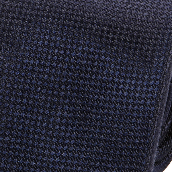 Dark Blue Silk Tie