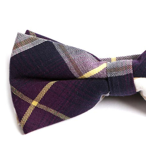 PURPLE HART BOW TIE - Handmade Limited Edition Ties by Tie Doctor
