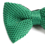 Mint Green Knitted BOW TIE