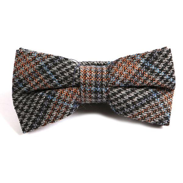 Davidson Bow Tie - Handmade Silk Wool And Knitted Ties by Tie Doctor