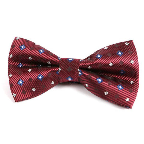 FRED VINTAGE BOW TIE - Handmade Silk Wool And Knitted Ties by Tie Doctor