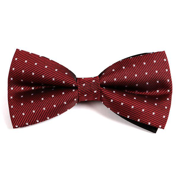 Red Jonas Bow Tie - Handmade Limited Edition Ties by Tie Doctor