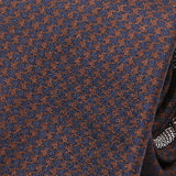 Brown Dogtooth Silk Tie