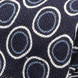 Blue Circle Silk Linen And Wool Blend