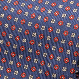 Blue & Red Macclesfield Inspired Silk Tie