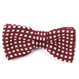 Red & White Bow Tie