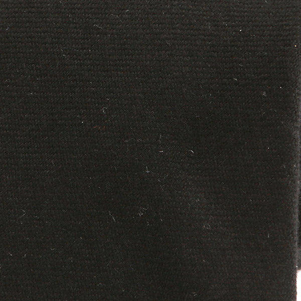 BLACK BRUSHED WOOL TIE - Handmade Silk Wool And Knitted Ties by Tie Doctor