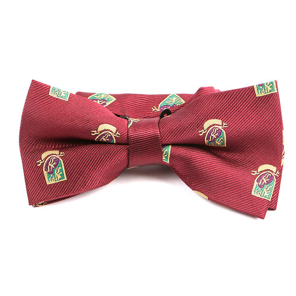 Red Campus Bow Tie - Handmade Limited Edition Ties by Tie Doctor
