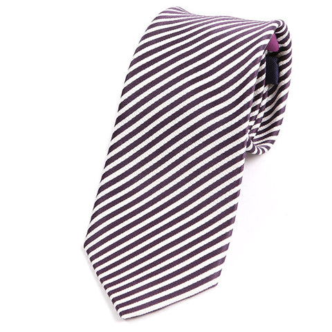 Purple Slim Silk Ties - Handmade Limited Edition Ties by Tie Doctor