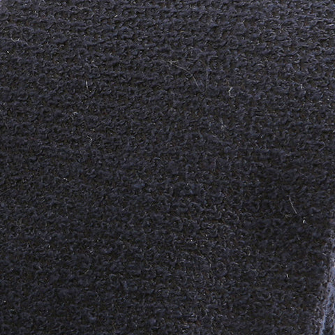Brushed Navy Grenadine Wool Tie - Handmade Silk Wool And Knitted Ties by Tie Doctor