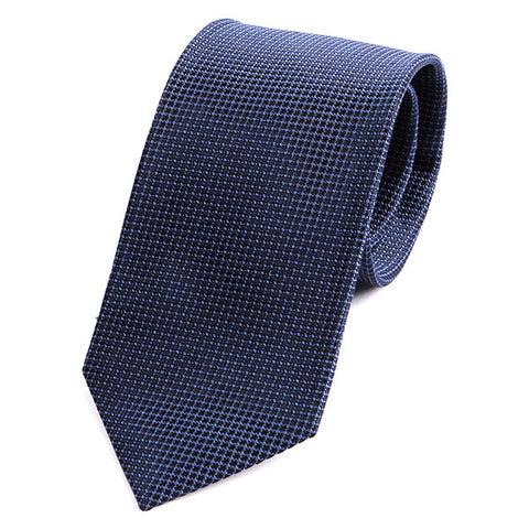 Best Seller Navy Silk Tie - Handmade Silk Wool And Knitted Ties by Tie Doctor