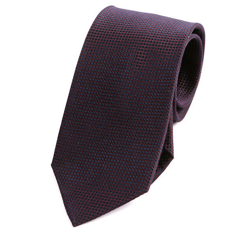 PURPLE GRENADINE SILK TIE - Handmade Limited Edition Ties by Tie Doctor