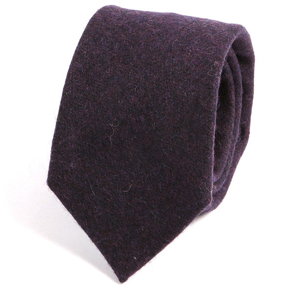 Purple Wool Ties