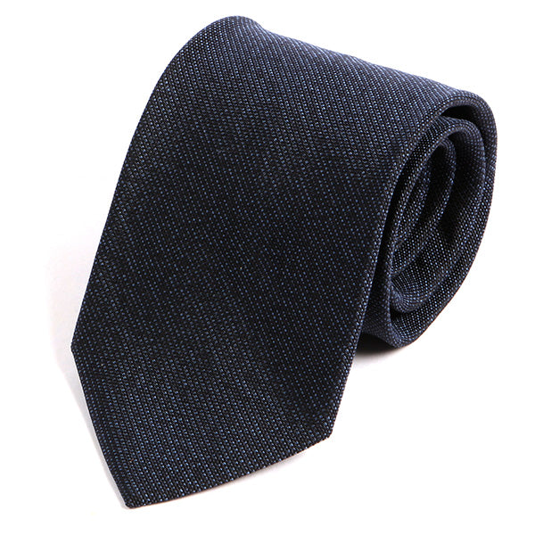Prussian Blue Silk Tie