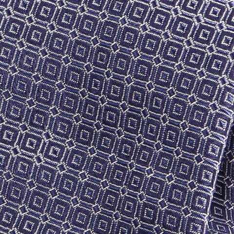 Blue Slate Silk Tie - Handmade Silk Wool And Knitted Ties by Tie Doctor