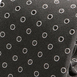Moss Circle Print Silk Tie - Handmade Silk Wool And Knitted Ties by Tie Doctor