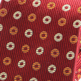 Crimson Red Dunkin Silk Tie - Handmade Silk Wool And Knitted Ties by Tie Doctor
