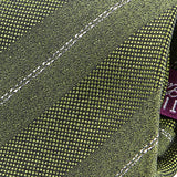 Pear Green Textured Silk Tie