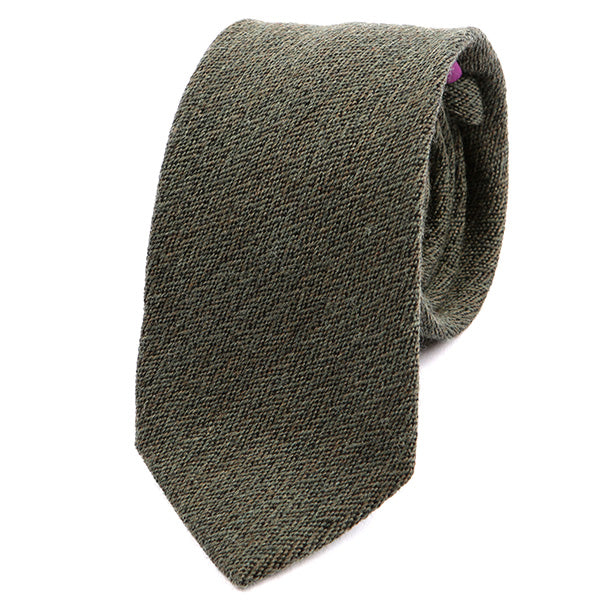 Pear Green Wool Tie