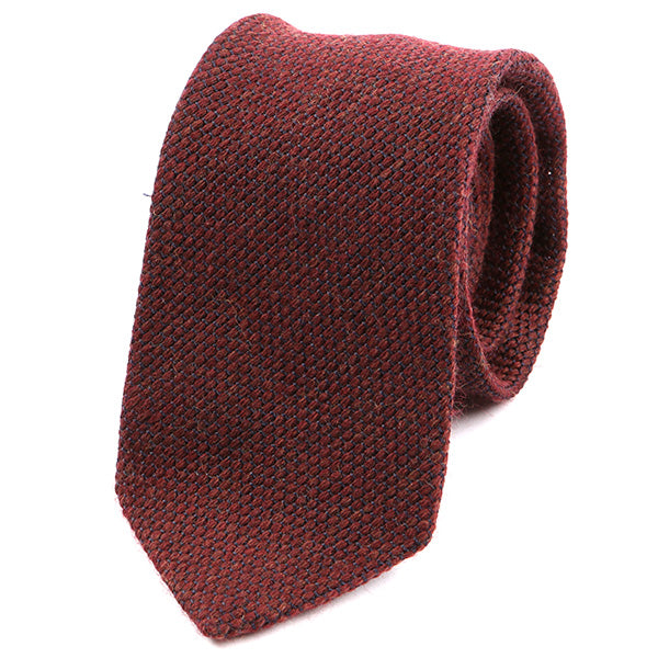Red Wool Tie