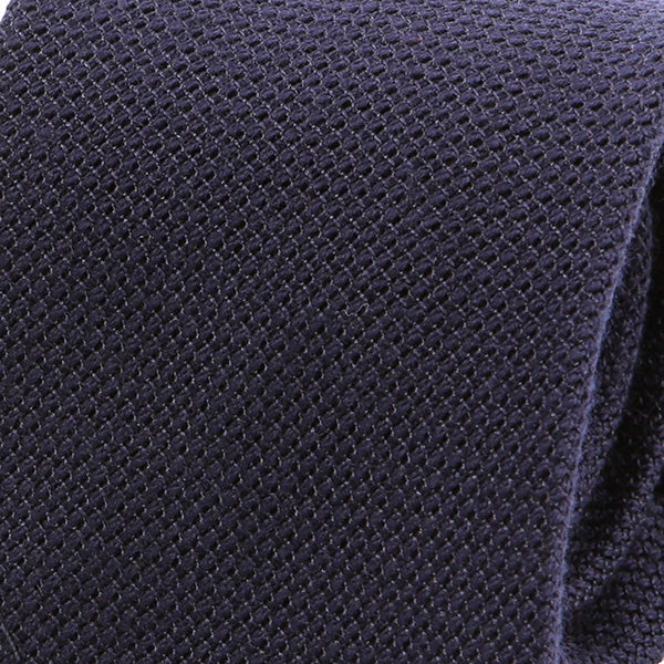 Navy Duo Wool Tie