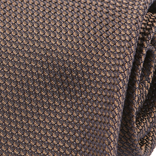 Brown Scale Silk Tie