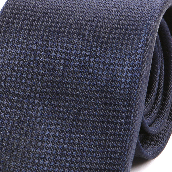 Oxford Blue Silk Tie