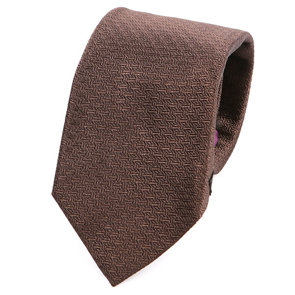 MOCHA BROWN ITALIAN SILK TIE