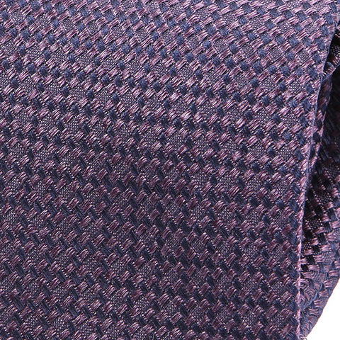 Purple Scale Silk Tie