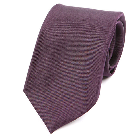 Rich Purple Silk Tie