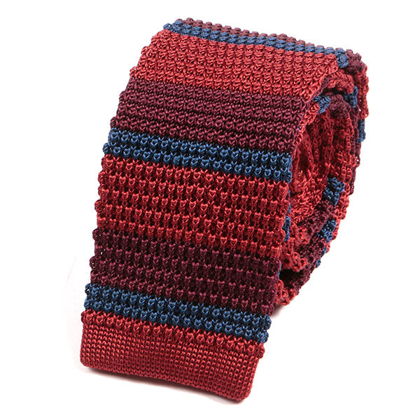 Lucia Rainbow Silk Knitted Tie