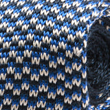 Brooks Blue Silk Knitted Tie
