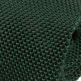 Green Silk Knitted Tie