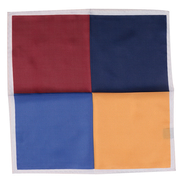 Multi-Coloured Silk Pocket Square