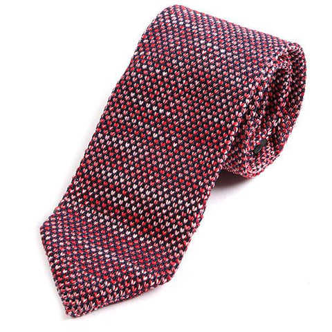 Pink Scale Pointed Tie