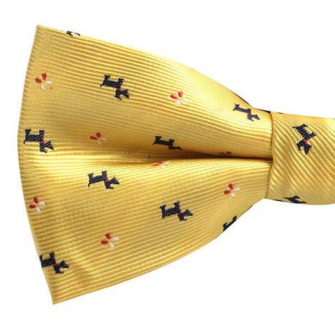 Yellow Doggo Bowtie