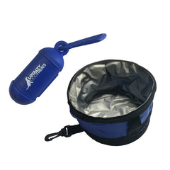 Dog Poop bag and Portable water bowl