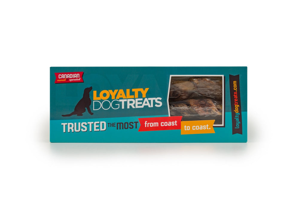 Beef Backstrap & Gullet Meat Twist - LoyaltyDogTreats