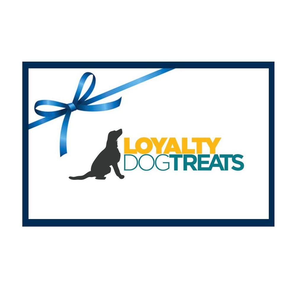 Loyalty Dog Treats Gift Card