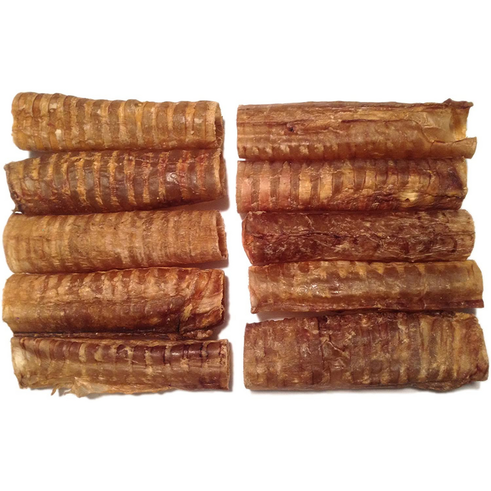 6-Inch Beef Trachea (10 Pack) - LoyaltyDogTreats