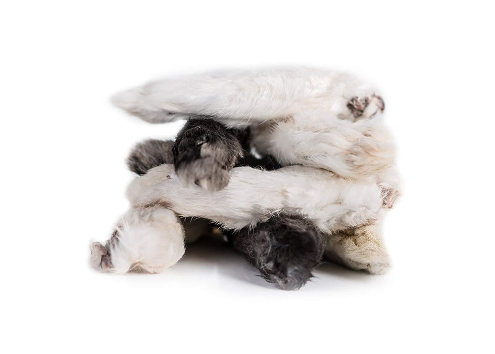 rabbit feet loyalty dog treats